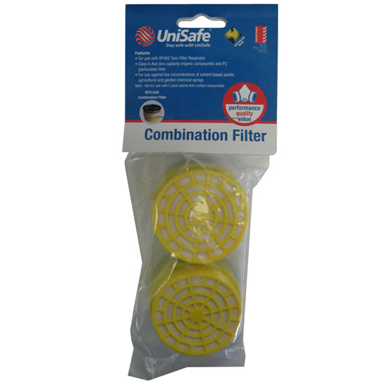 Respirator Filter P2 Chem/Pain Unisafe RP212AR
