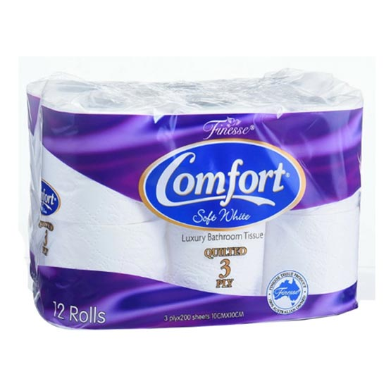 Toilet Paper Pack of 18