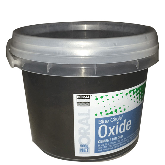 Oxide Black 318 500g Boral Blue Circle