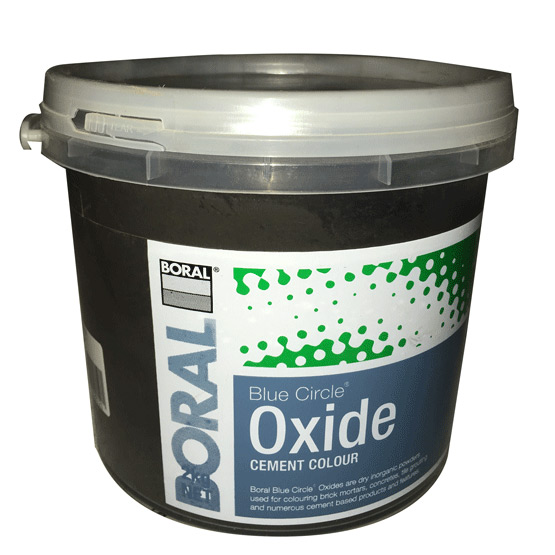 Oxide Black 318 2kg Boral Blue Circle
