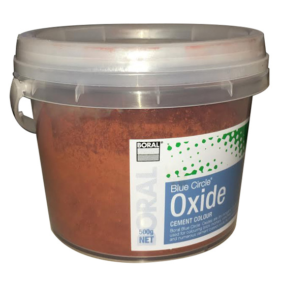 Oxide Red 222 500g Boral Blue Circle
