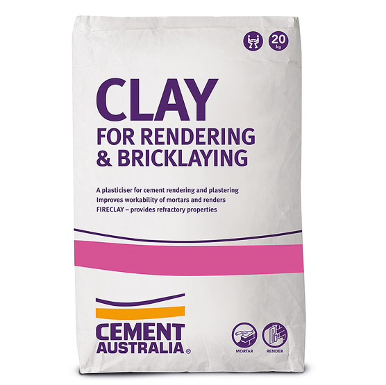 Clay for Rendering and Bricklaying 20kg