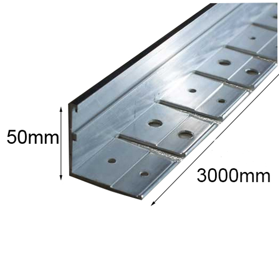 Link Edge 50mmhx3m Heavy Duty Aluminium Garden Edging