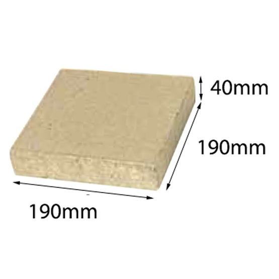 Paver Easy Pave Appin Stone 190x190x40 Baines (28=1m2) 50.33