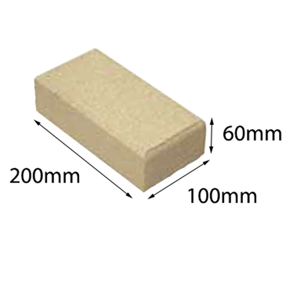 Paver Metric Appin Stone 200x100x60 Baines (50=1m2) 60-200