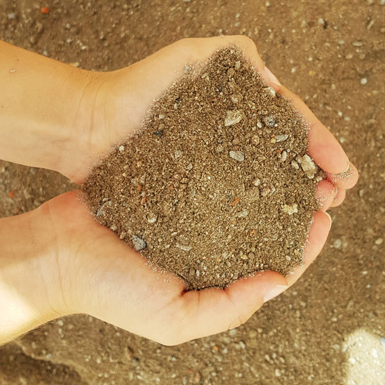 Crusher Dust-Recycled Concrete