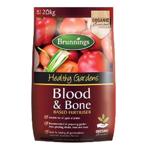 Fertiliser Blood & Bone 20kg