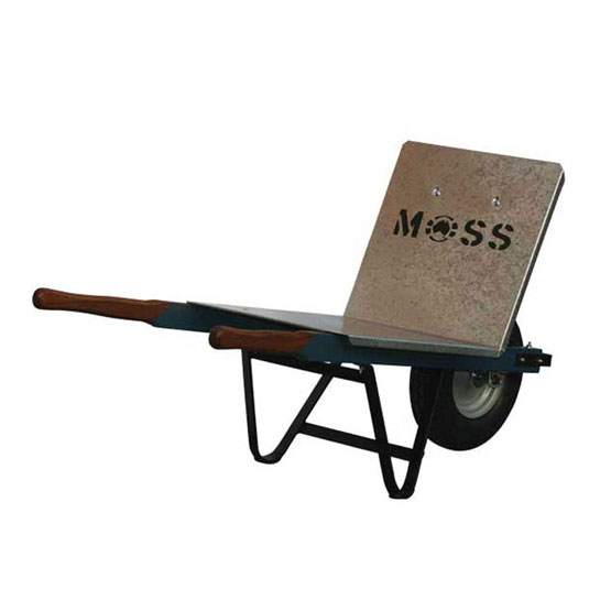 Wheelbarrow Brick Barrow Galvanised Moss