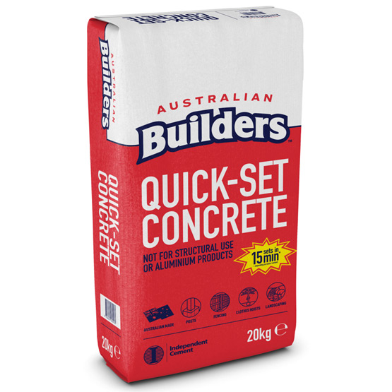 Concrete Quickset Australian Builders 20kg