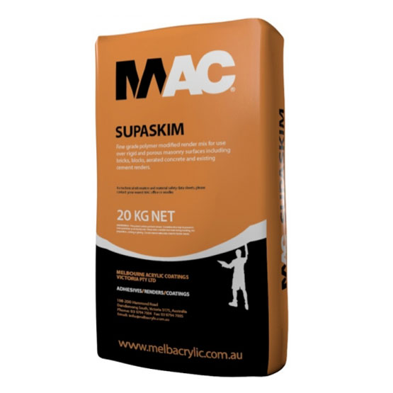 Mac Supaskim Render Bag 20kg