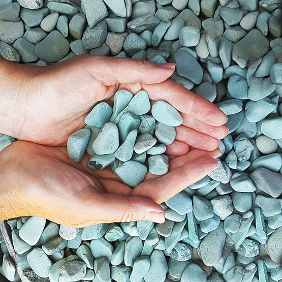 Pebble Green Small 15-20mm 10kg
