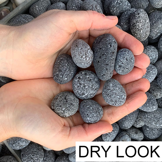 Pebble Lava Charcoal 20-30mm 15kg