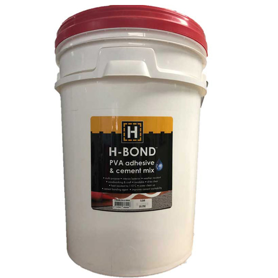 H Bond PVA Adhesive & Cement Mix 20L (Bondcrete equivalent)