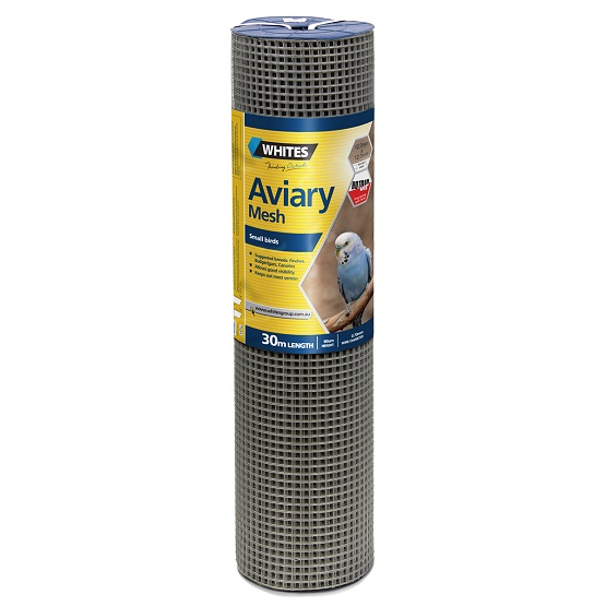 Mesh Aviary/Tiling 30m roll (180cm high with mesh aperture of 12mm and 0.7mm wire)