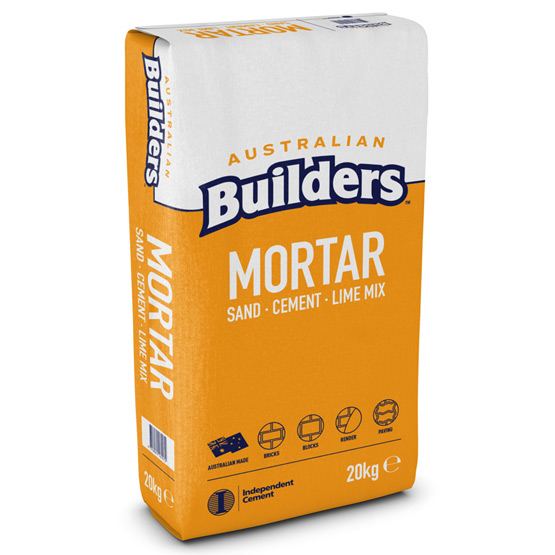 Mortar Mix BPS Australian Builders 20kg
