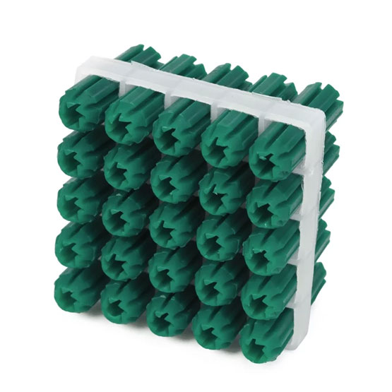 Wall Plug Green 7x25mm Pack of 25