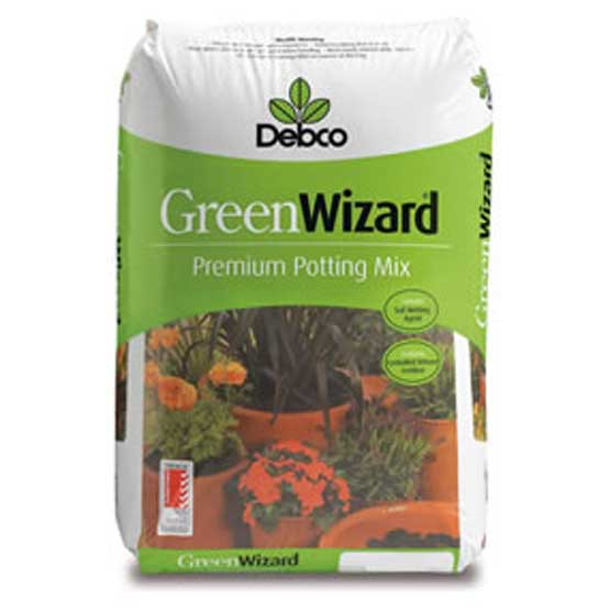 Soil Potting Mix Premium Green Wizard 25L