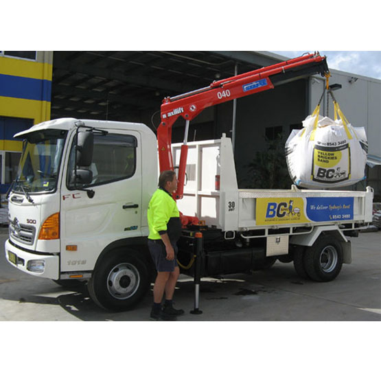 Tipper 5 Tonne Load With 3 Metre Crane Truck Hire Hourly Two Hour Minimum (30,33)