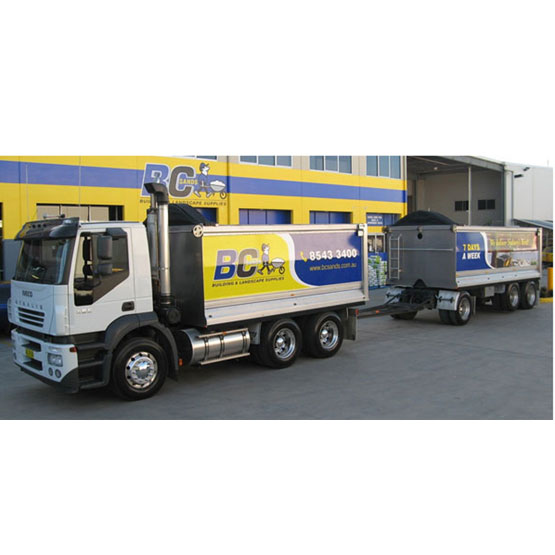 Tipper & Dog 32 Tonne Load Truck Hire Hourly Two Hour Minimum (71,74,76)