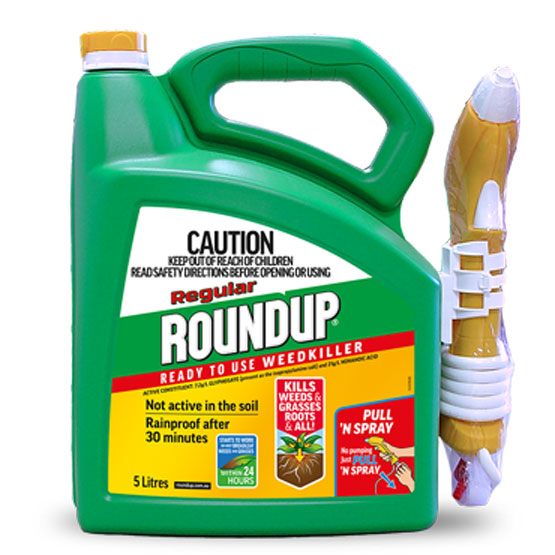 Weedkiller Roundup Regular Ready-to-Use Herbicide 5L