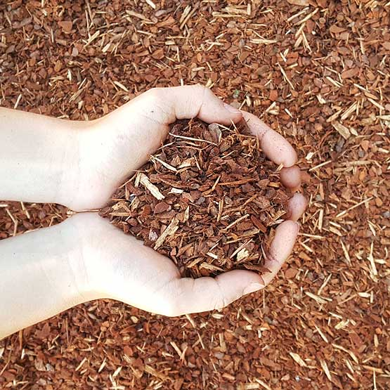 Mulch Pine Bark Soft Landing 10mm Certified AS4422 Soft Fall