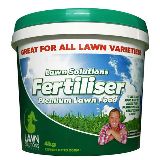 Fertiliser Premium Lawn Food Lawn Solutions 4kg