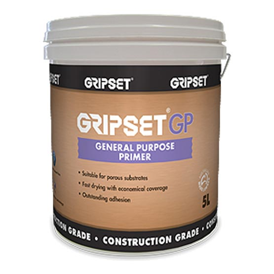 Gripset GP 5L General Purpose Waterproofing Primer and Bonding Agent