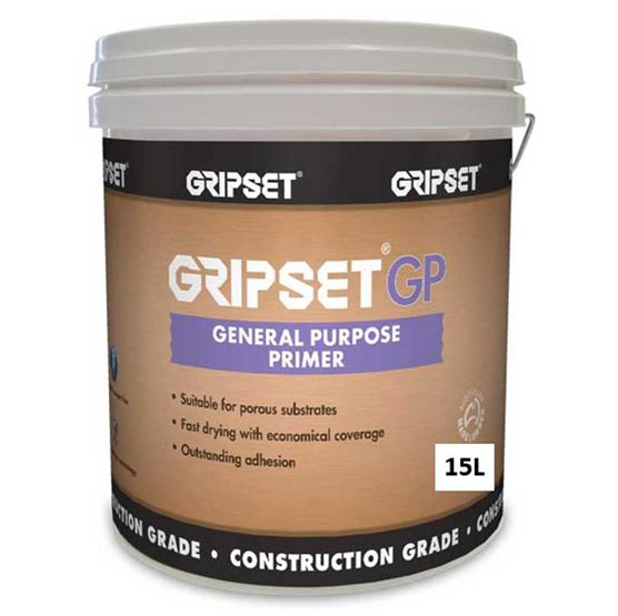 Gripset GP 15L General Purpose Waterproofing Primer and Bonding Agent