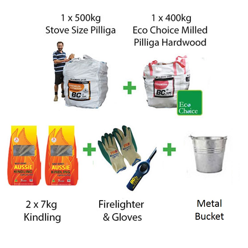 Firewood Starter Pack Pilliga (FAA Approved)