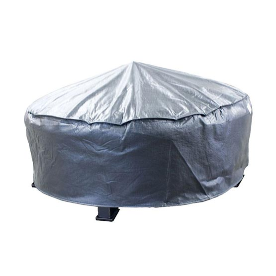 Firepit Cover--Adjustable Round