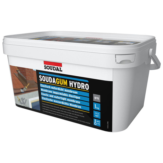 Soudagum Hydro Membrane 1kg Repair Kit Grey