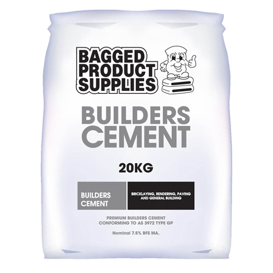 Cement Builders Bagged Product Supplies 20kg