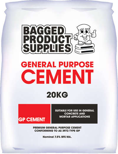 Cement General Purpose Bagged Product Supplies 20kg