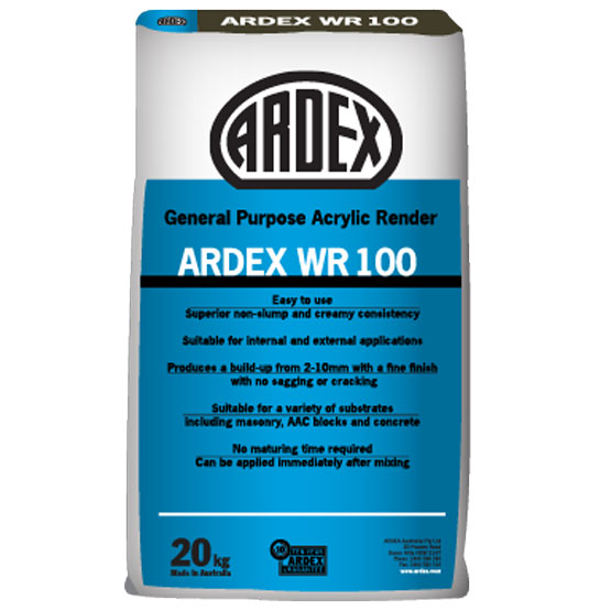 Ardex Render General Purpose Acrylic WR100