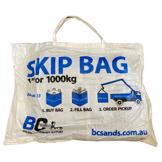 Skip Bag Empty Individual Carry Pack