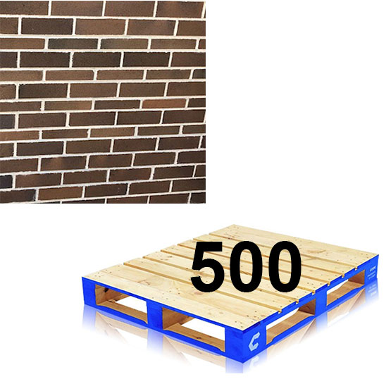 Brick Renovation Gertrudis Brown Pallet of 500