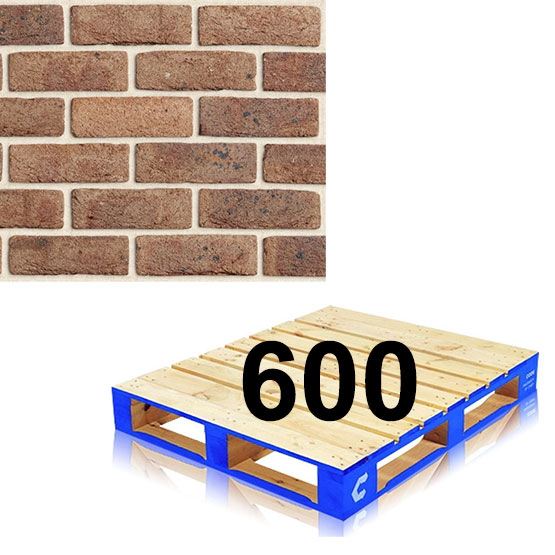 Bricks Pallet of 600 Crafted Sandstock Cadman
