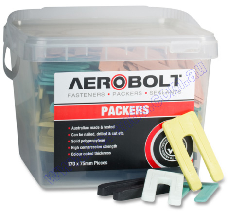 Packers Mixed Horseshoe Pack of 170 Aerobolt
