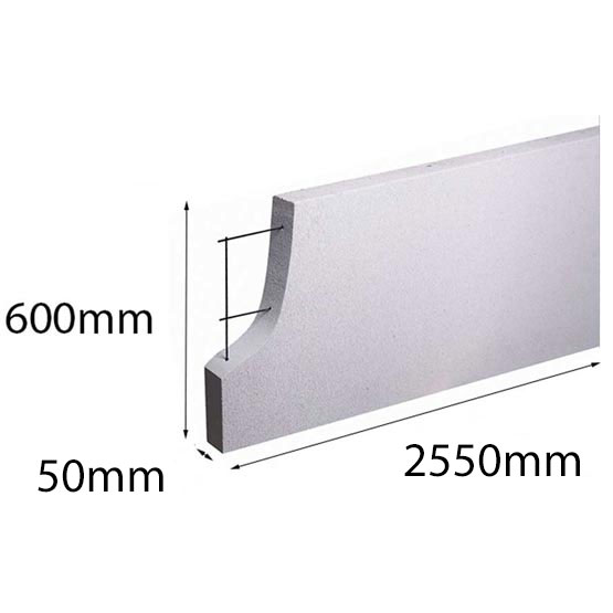 Hebel PowerPanel 2550x600x50mm (Power Fence) (see * for freight costs)