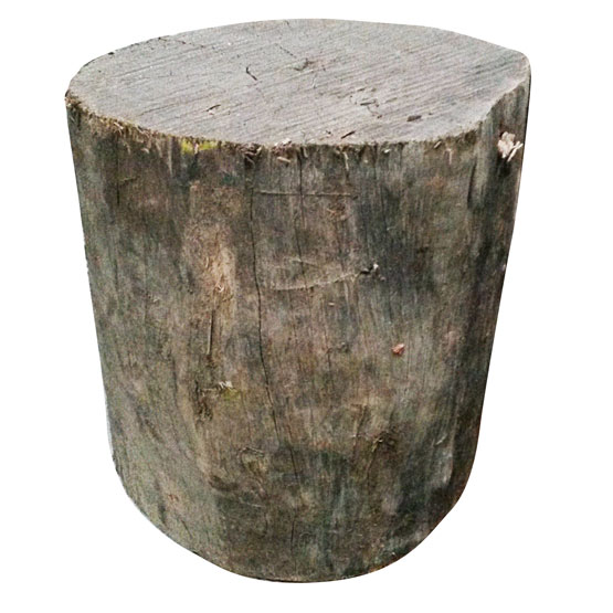 Firewood chopping block 350mm (caution - heavy lift)