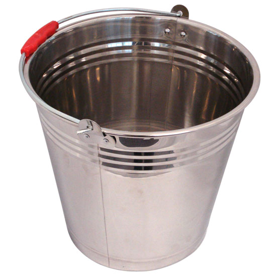 Bucket Stainless Steel 12L
