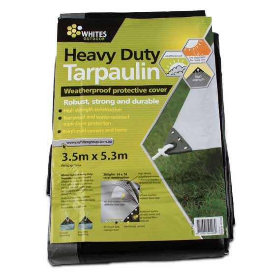 Tarp Heavy Duty 5.3m x 3.5m