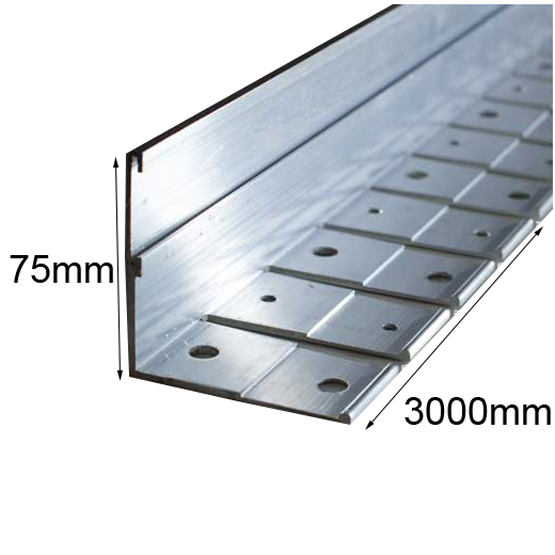 Link Edge 75mmhx3m Heavy Duty Aluminium Garden Edging